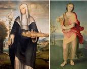 Domenico Beccafumi: Santa Agnese e Artemisia