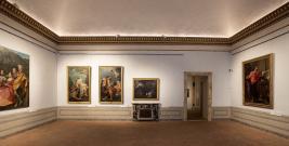 Palazzo Barberini. Ala sud. Sala Roma 1670-1750