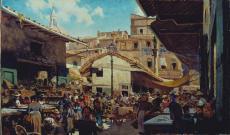 Telemaco Signorini. Il vecchio mercato (1882-1883)