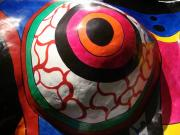 Niki De Saint Phalle Big Lady Black detail 3