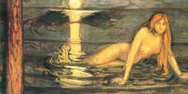 La signora delle acque di Edvard Munch 1896