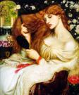 Lady Lilith di Dante Gabriel Rossetti 1868