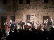 Vulci, Ensemble Roma Sinfonietta, Pontecorvo, Mion, Di Maria, Maestri, di spalle. Foto Virginia Listanti